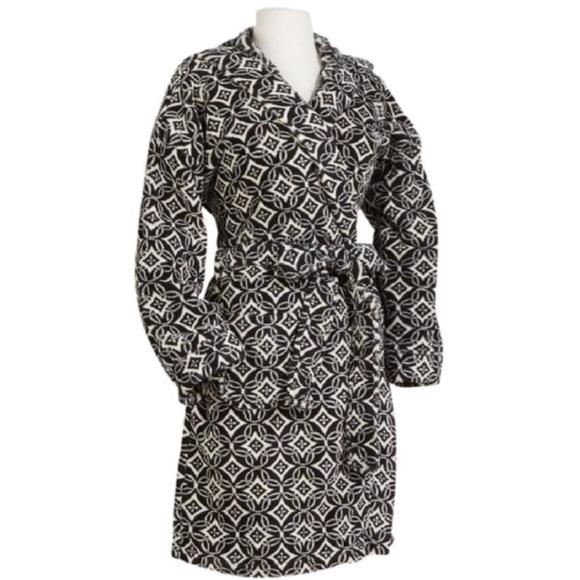 Vera Bradley Other - Vera Bradley Concerto Hooded Soft Fleece Robe S/M